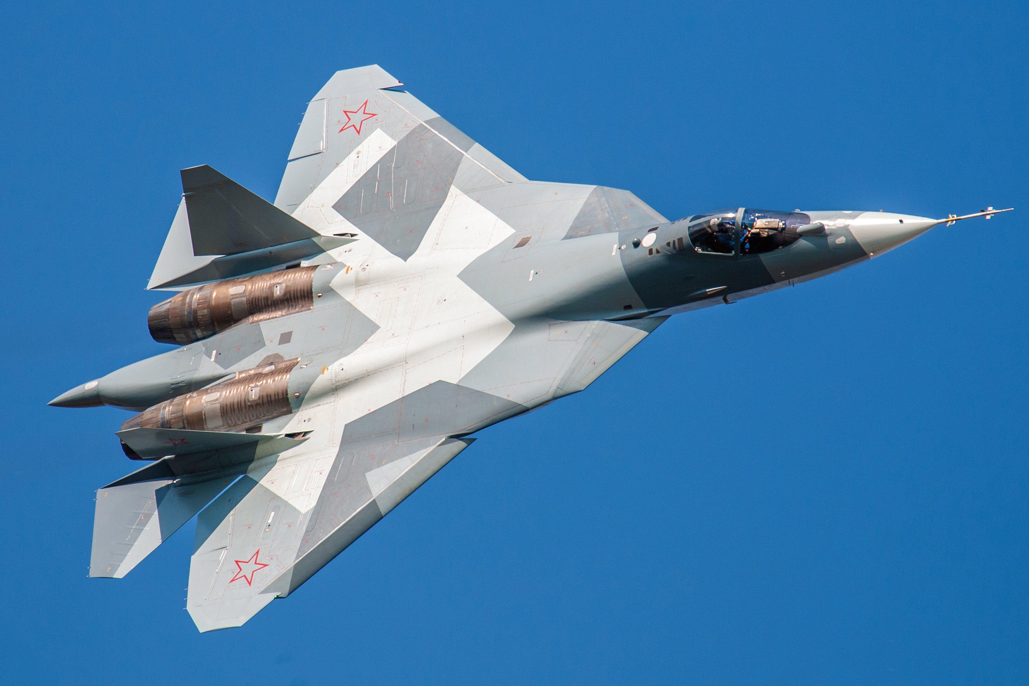 Su-57 [Piotr Butowski]