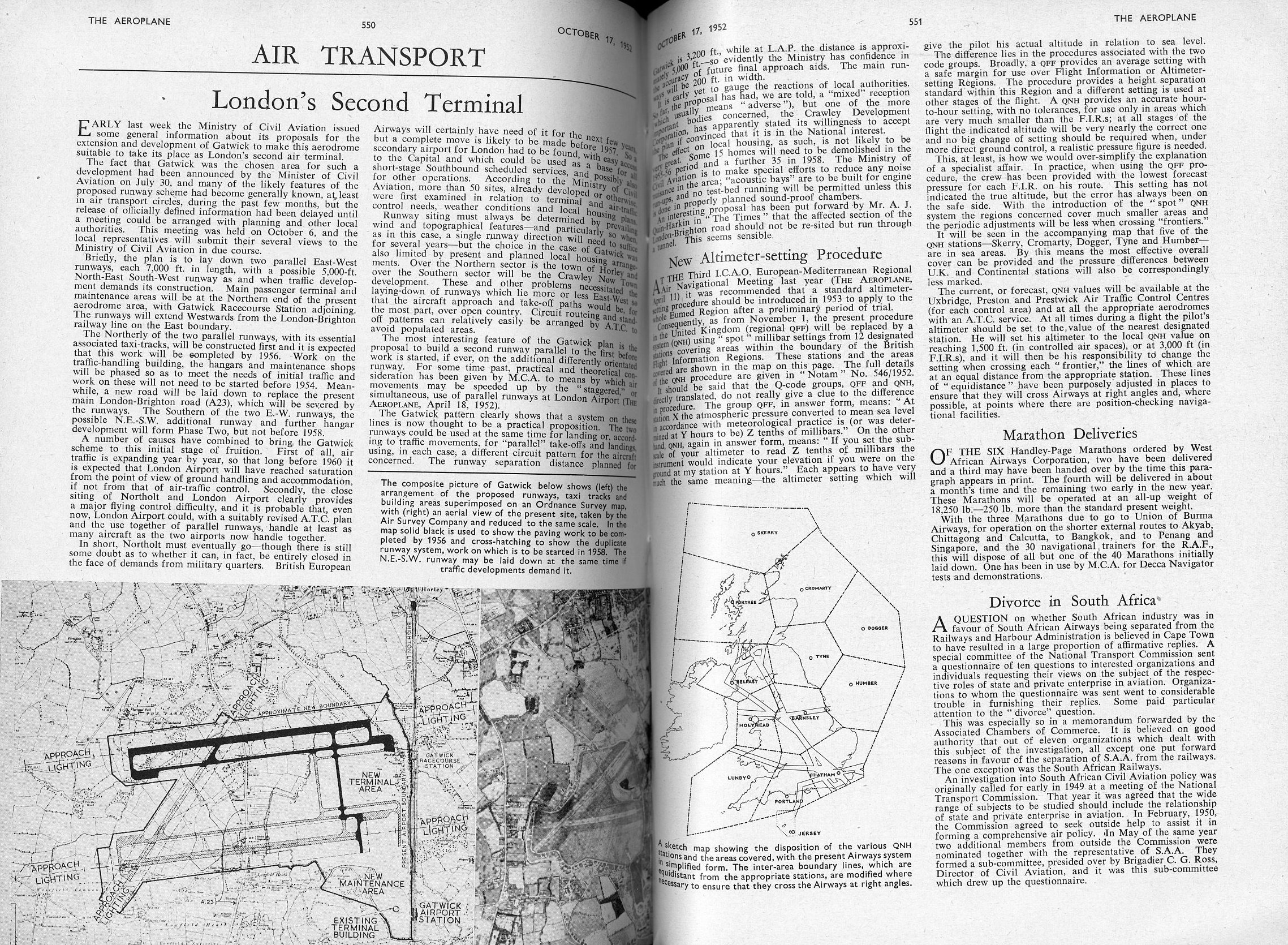 Overview of pages from the magazine.