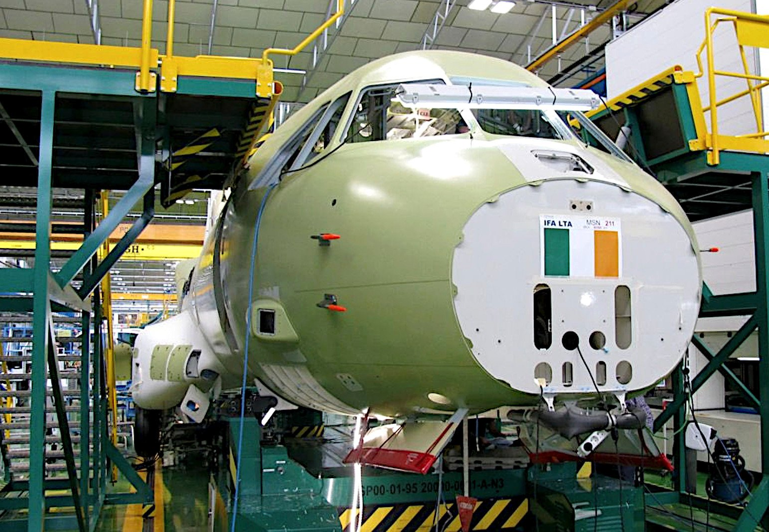 First C295W for Irish Air Corps in production 17-08-21 [Irish Air Corps]