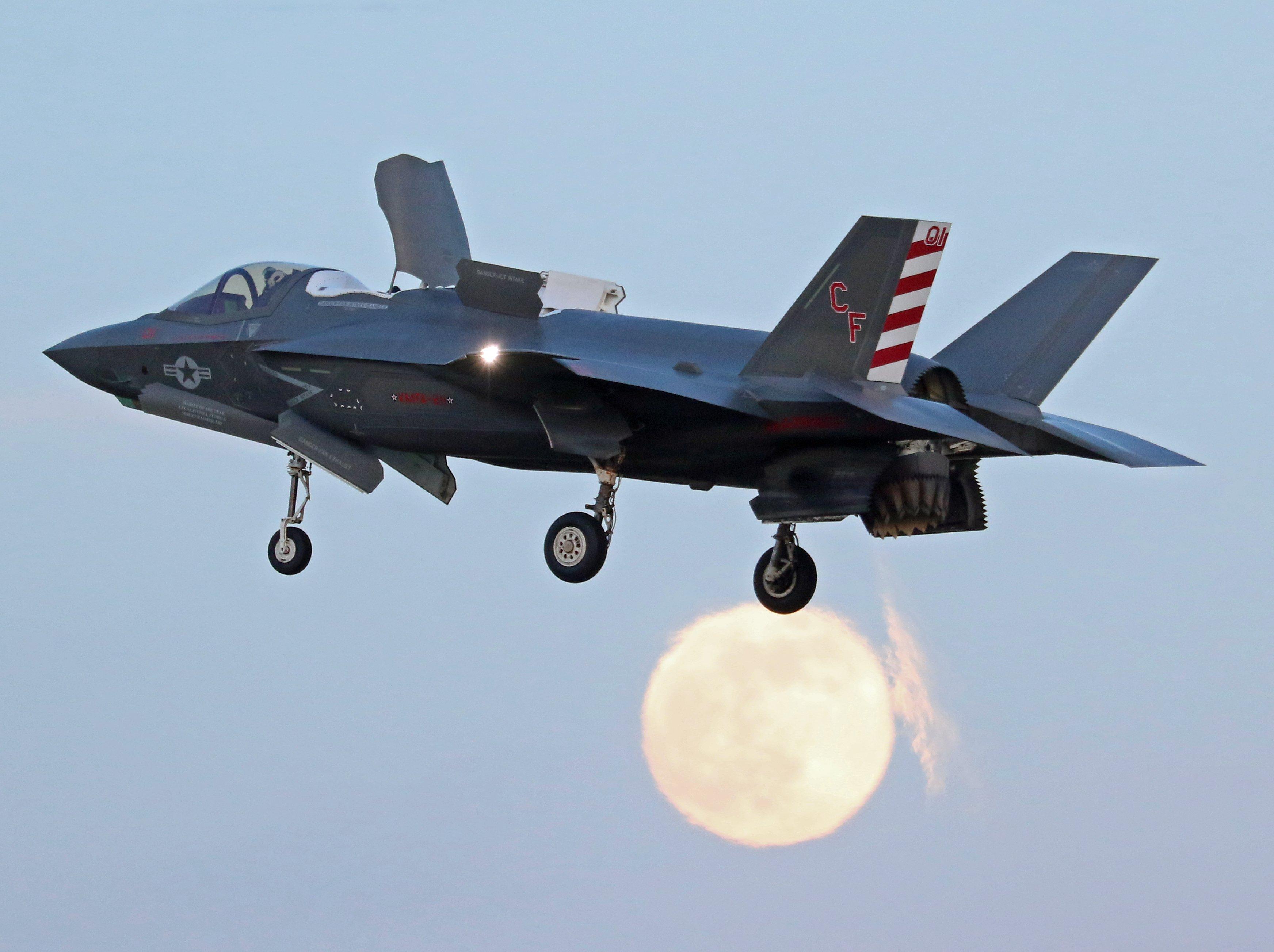 VMFA-211 F-35B [Justin Ward]