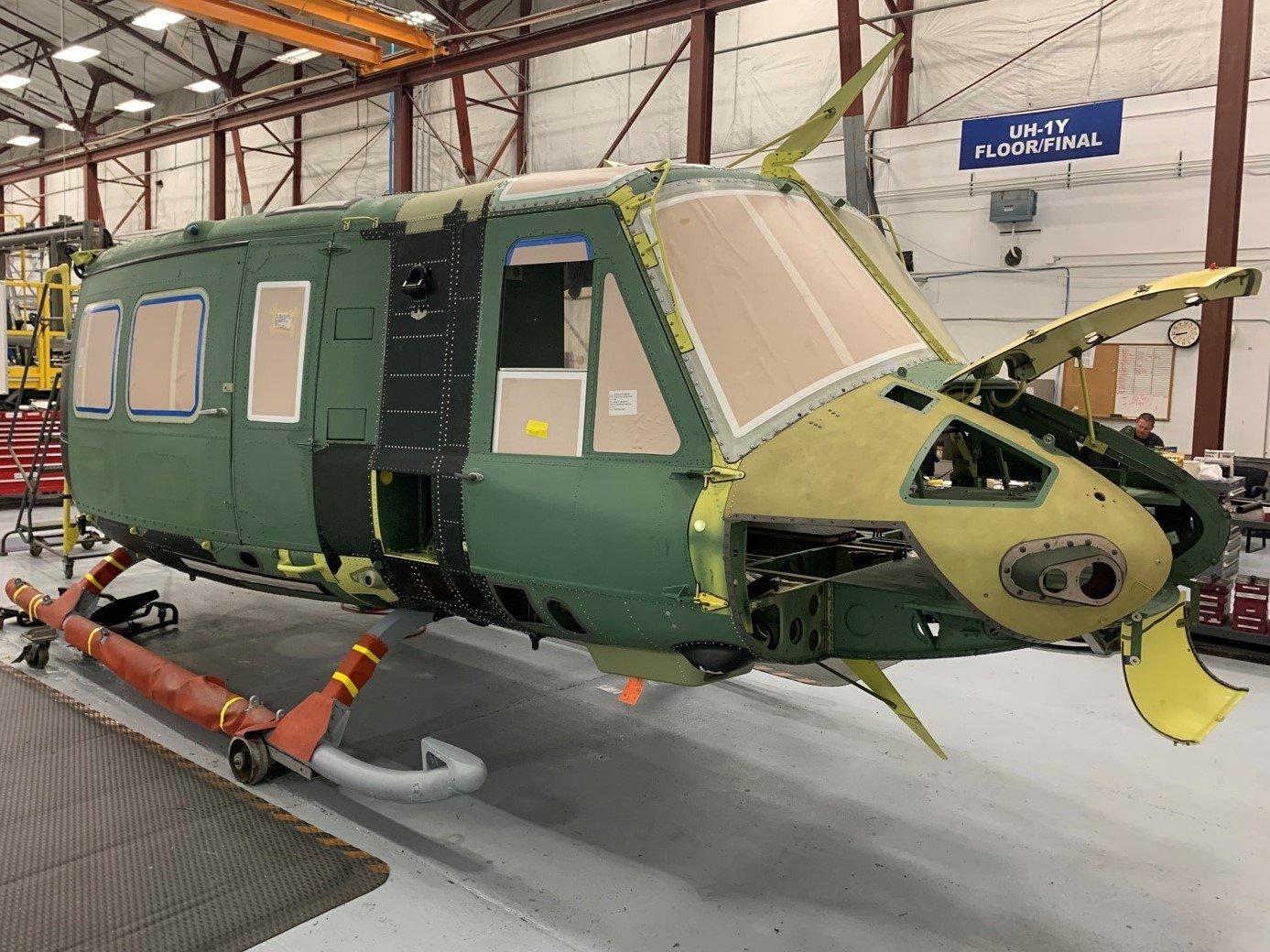 1st UH-1Y Venom cabin for Czech Republic 19-07-21 [Bell]