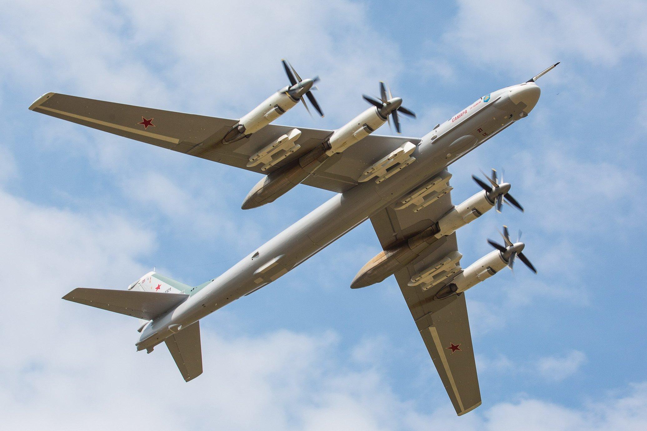 Tu-95MSM first flight 22-08-20 [Beriev]