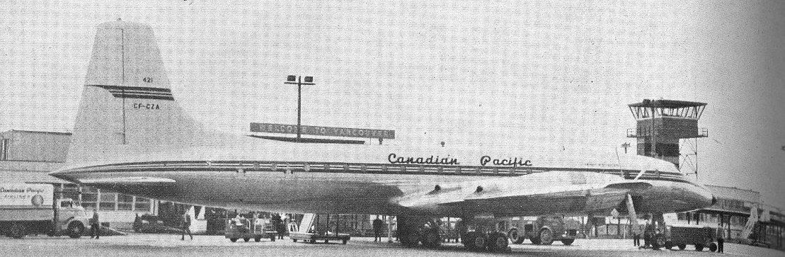 Canadian Pacific Britannia at Vancouver.
