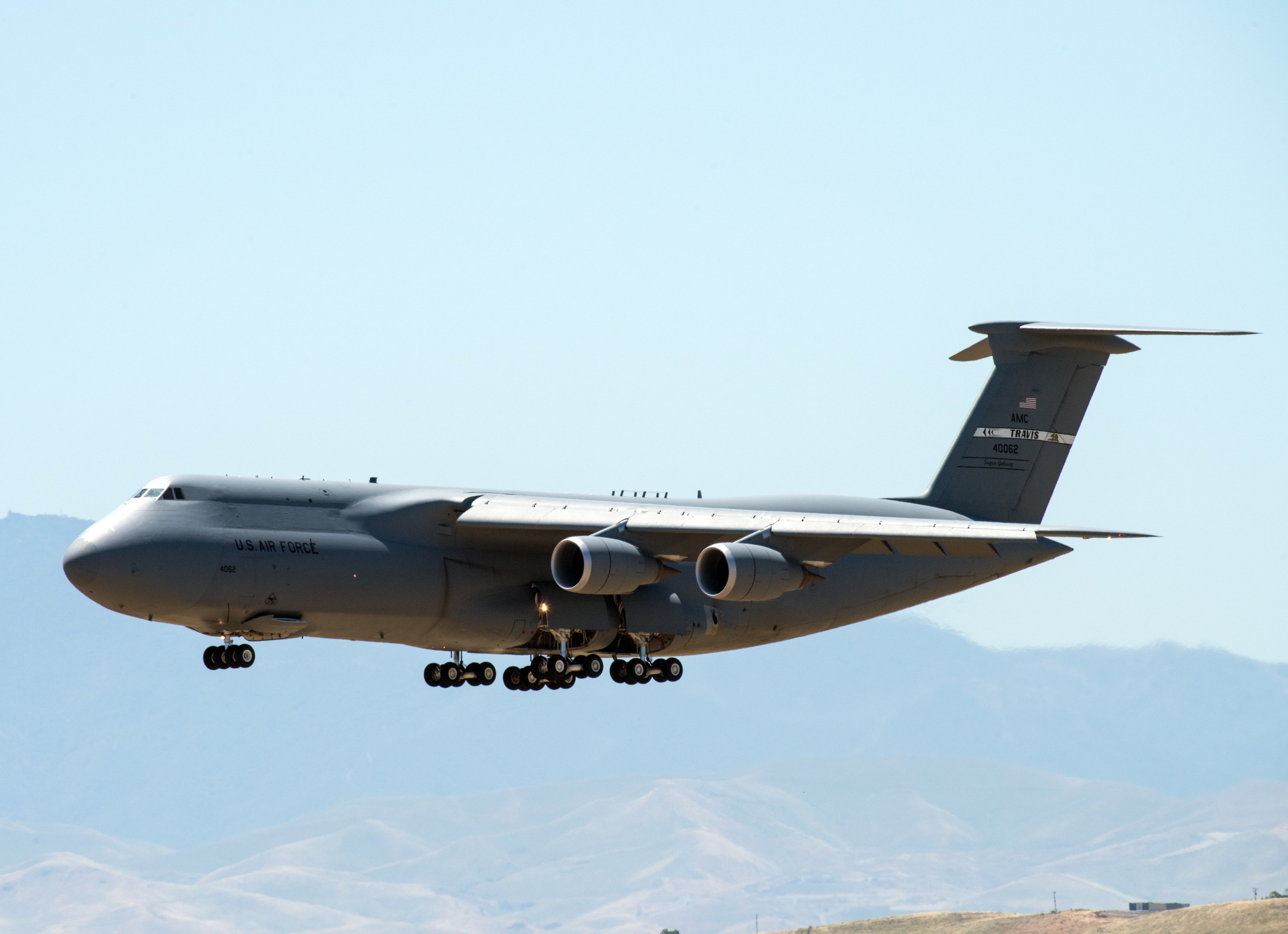 C-5M Super Galaxy [USAF/Louis Briscese]