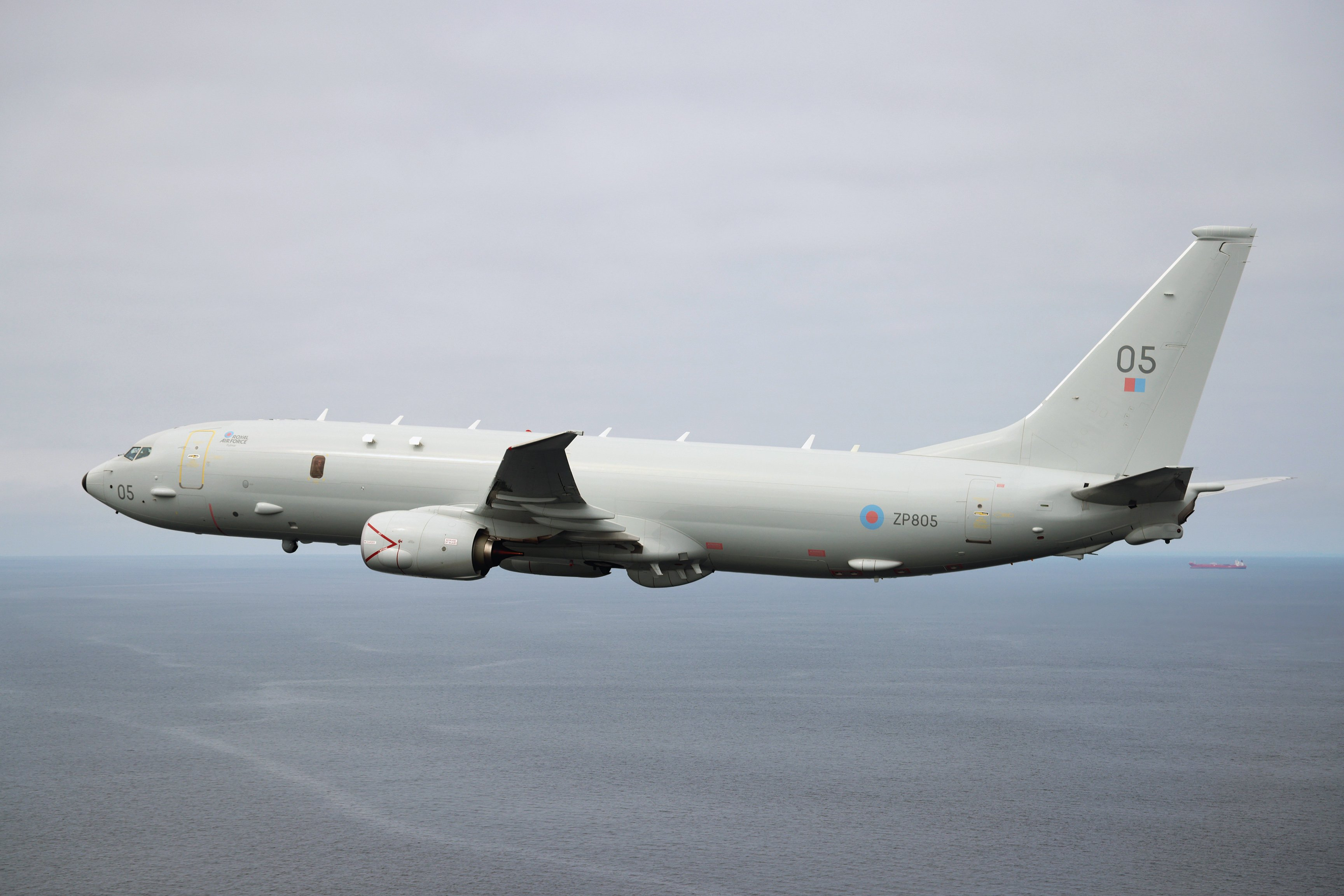 The UK has ordered nine Boeing Poseidon maritime patrol aircraft, with six delivered so far. UK MOD © Crown copyright 2021/Cpl Adam Fletcher