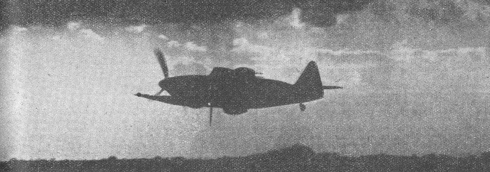 A Boulton Paul Defiant night fighter.