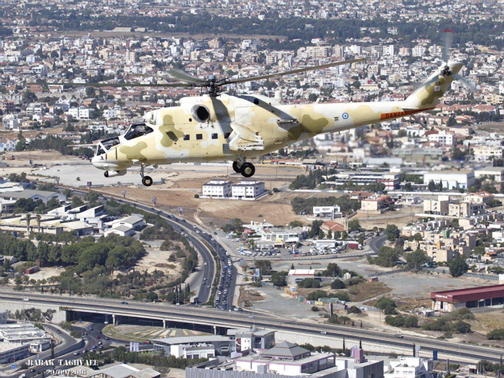 Cypriot National Guard Mi-35P [Babak Taghvaee]