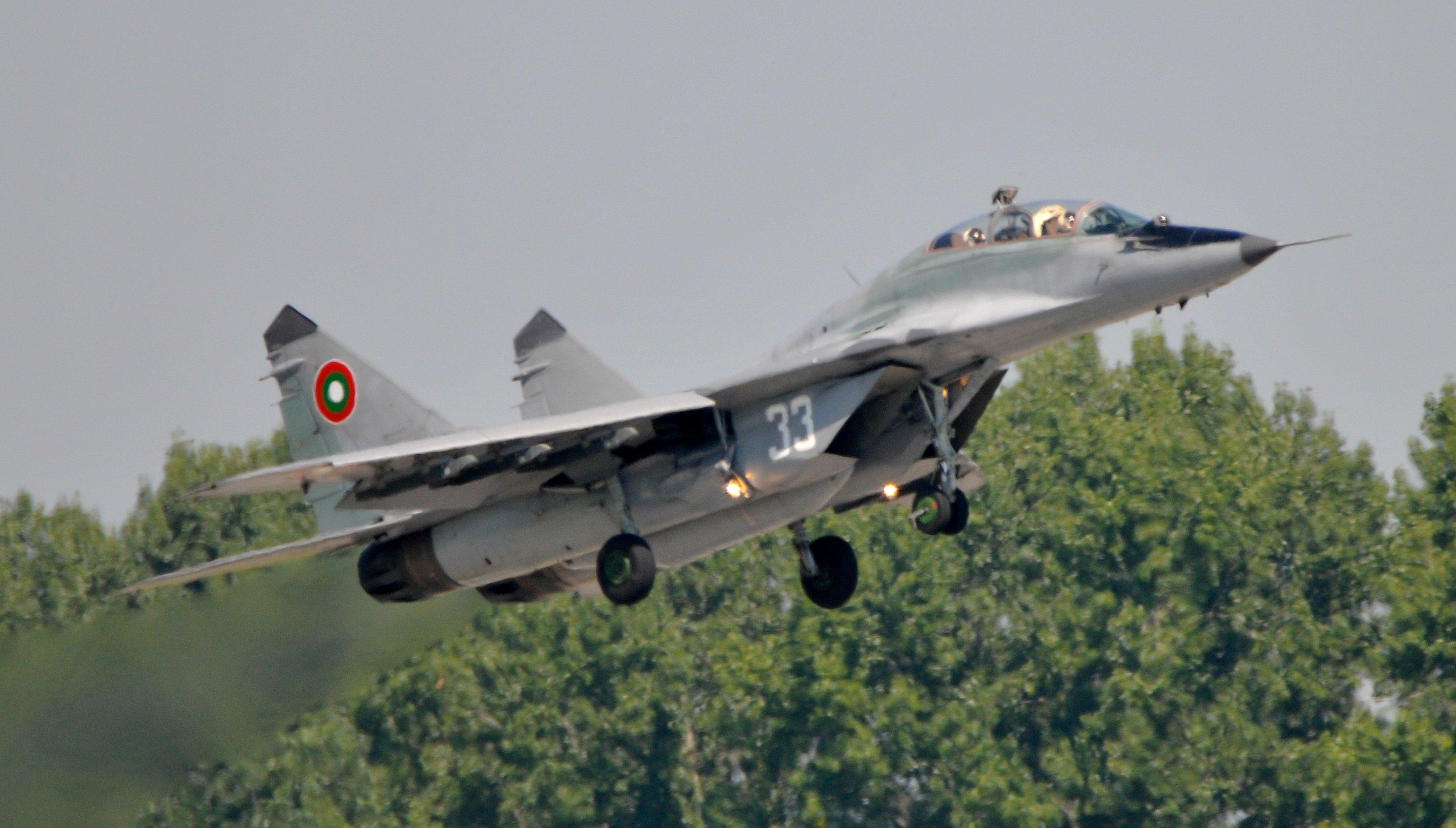 Bulgarian MiG-29 [US Air National Guard/Master Sgt Andrew J Moseley]
