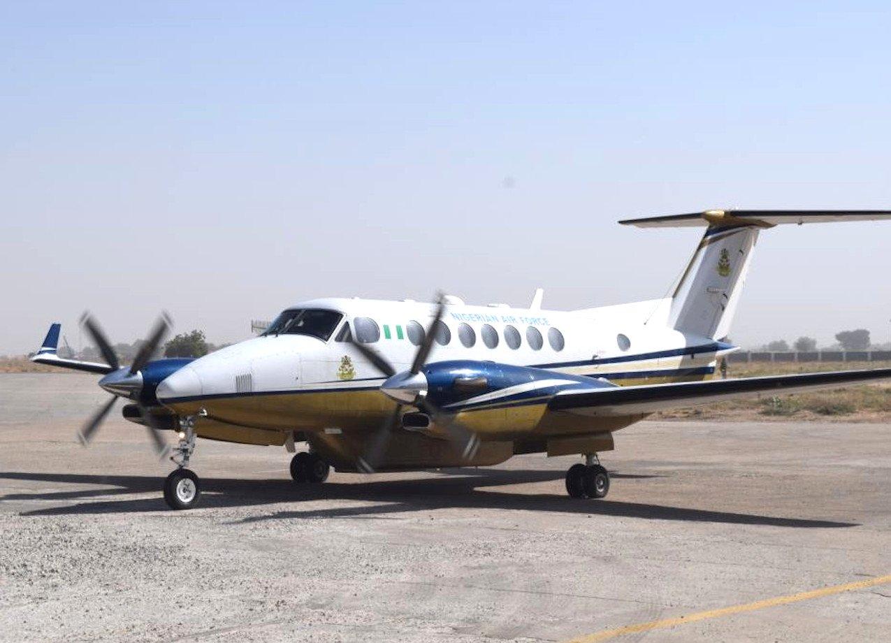 Nigerian King Air 350i [Nigerian Air Force]