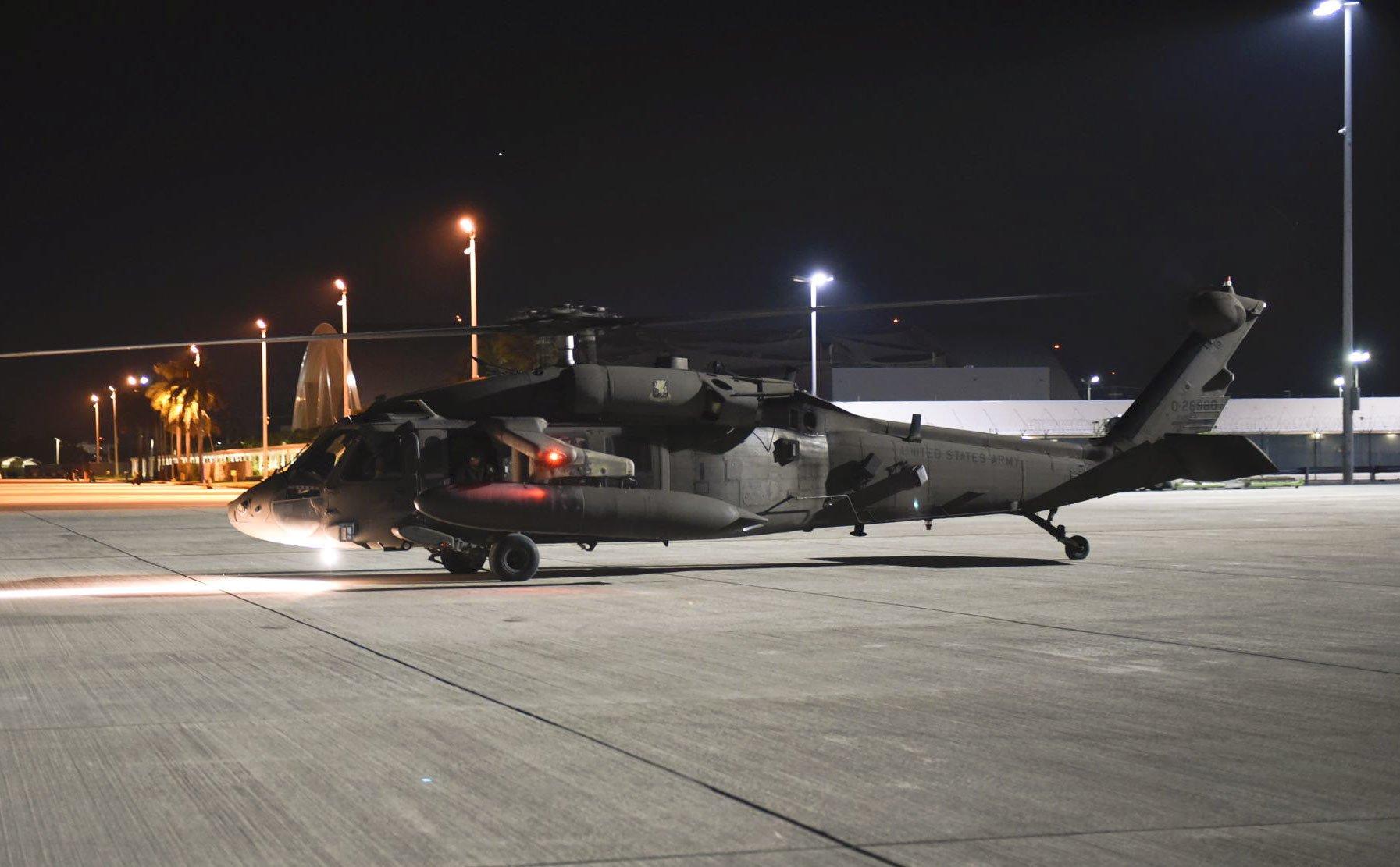 US Army UH-60 JTF-B deploys to Haiti 15-08-21 [USAF/Capt Annabel Monroe]