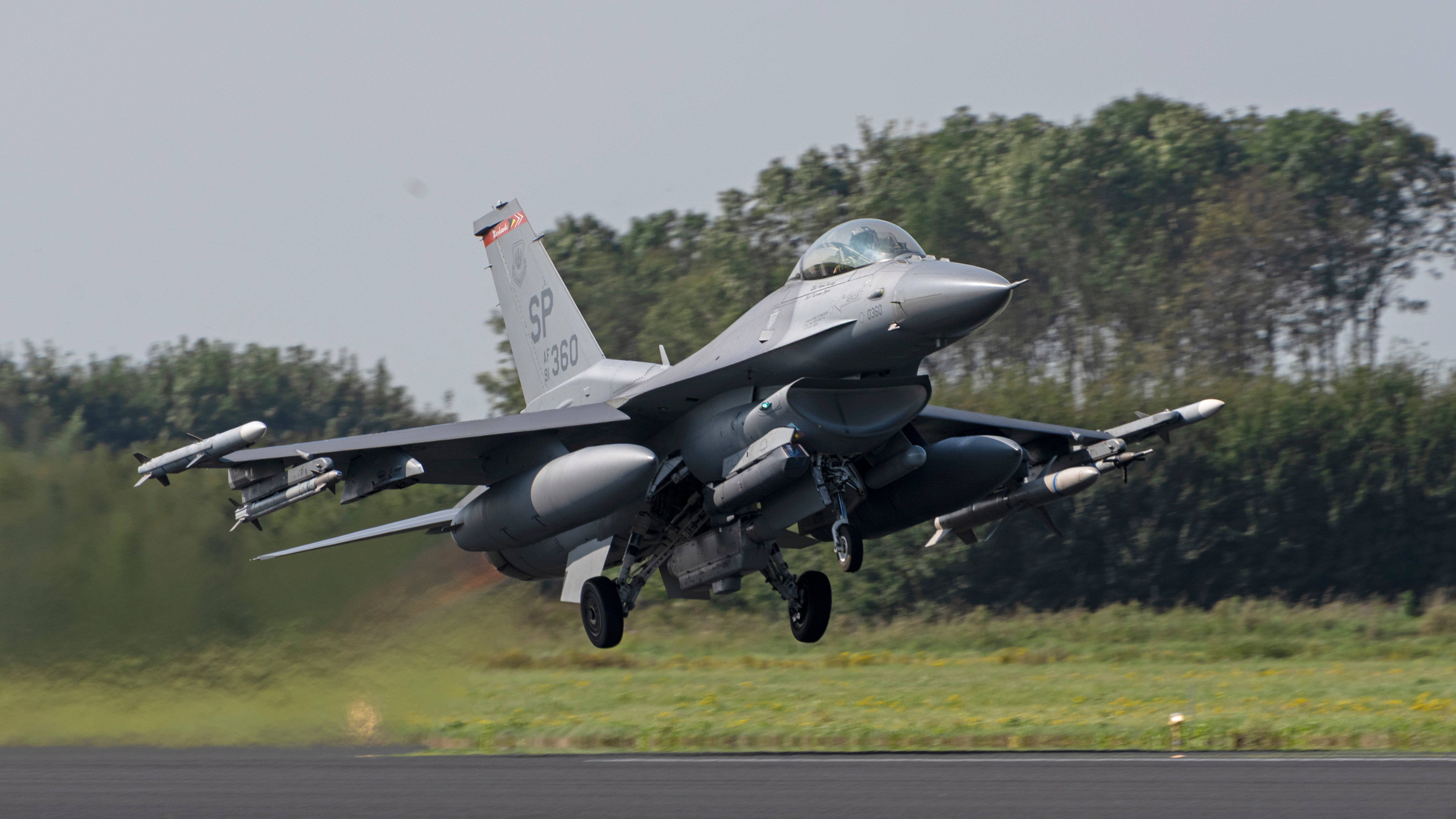480th FS F-16C takes off from Leeuwarden 14-09-21 [USAF/Tech Sgt Anthony Plyler]