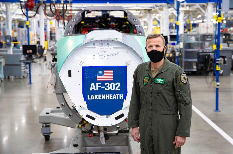 RAF Lakenheath's first F-35A [USAF]
