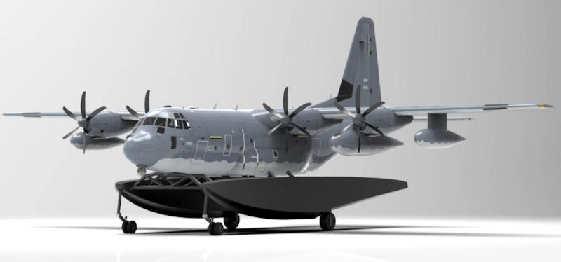 Amphibious MC-130J concept