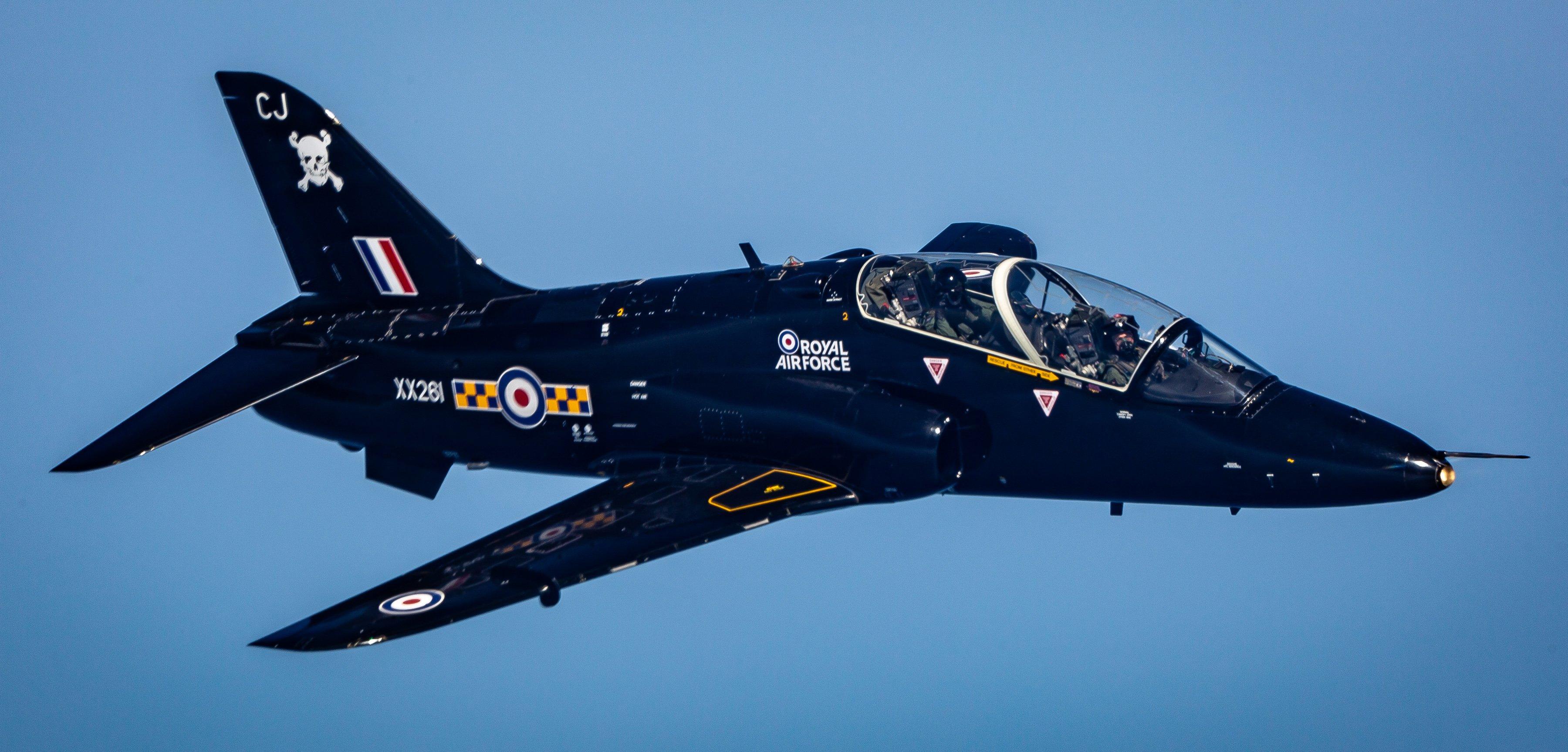 Hawk T1A [MOD Crown Copyright/Sgt 'Matty' Matthews]