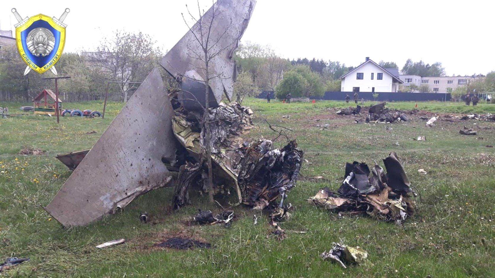 Belarus Yak-130 crash [Belarus MOD]