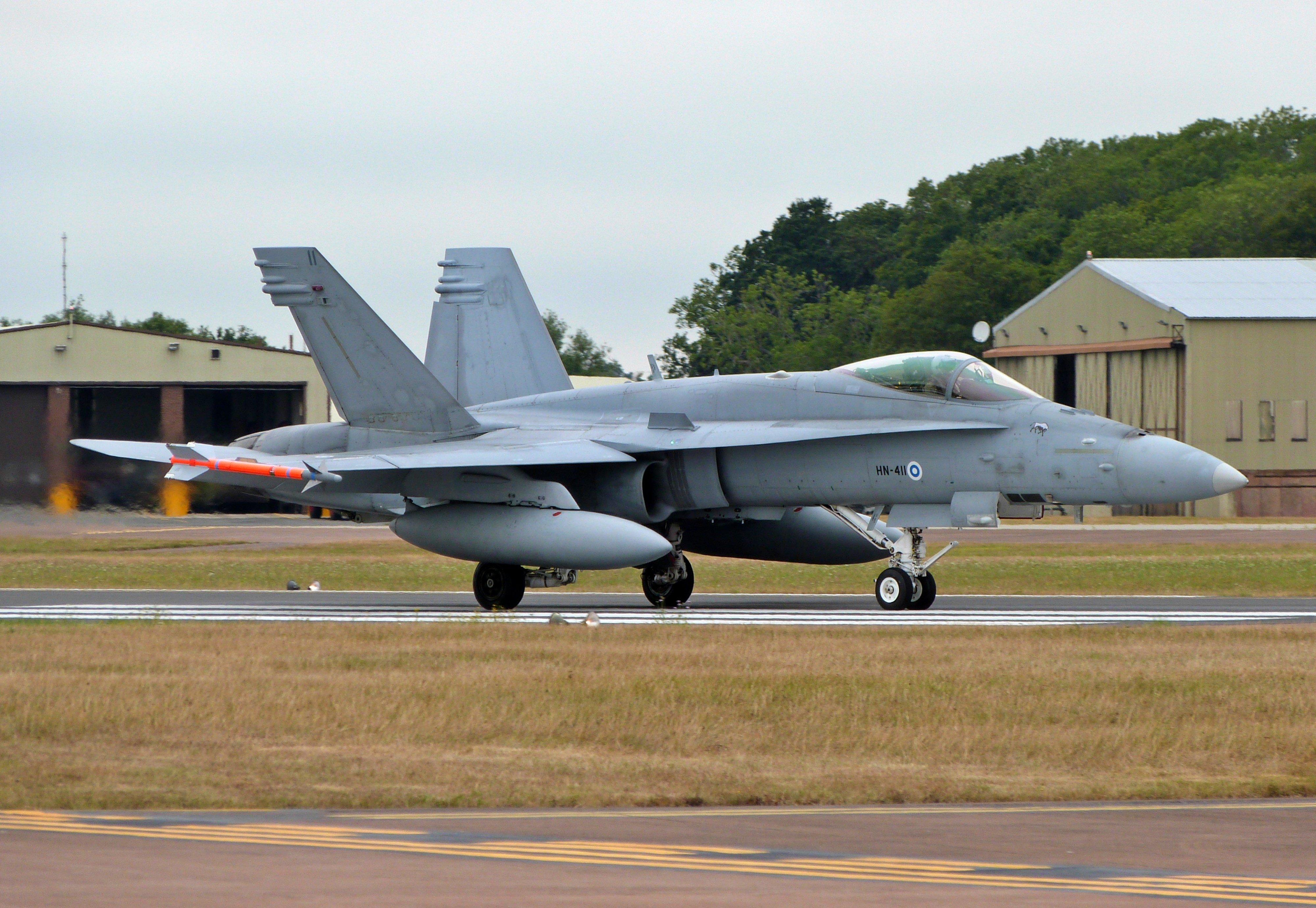 Finnish F/A-18C [Khalem Chapman]