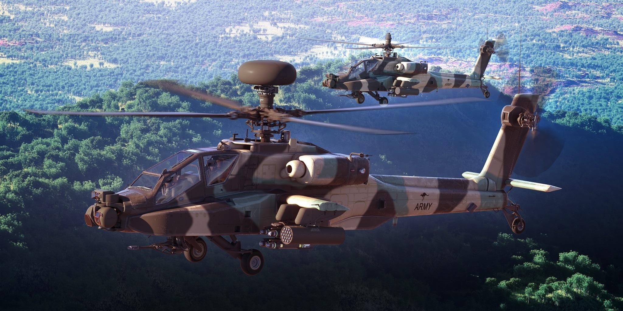 Australian AH-64E [Boeing Australia]