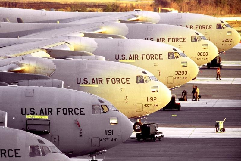 C-17 sustainment contract awarded