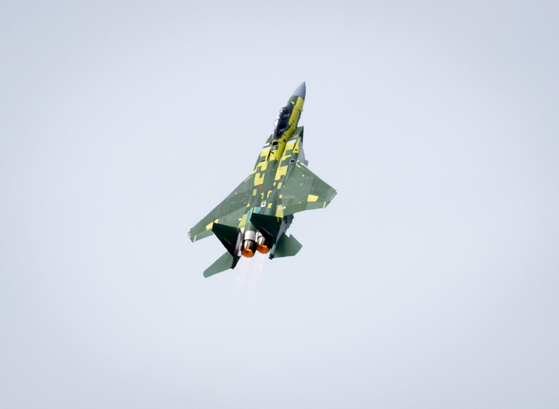F-15QA First Flight [Boeing]