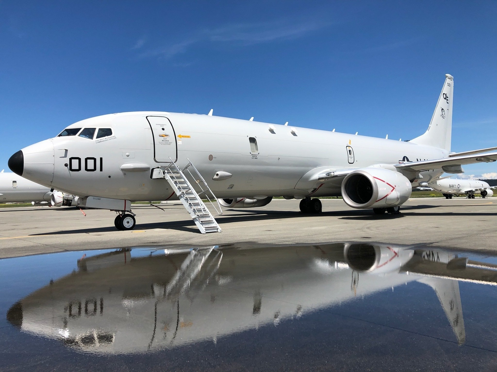 VP-40 P-8A Poseidon at NAS Whidbey Island May 2020 [US Navy/CMDR Joseph Parsons]