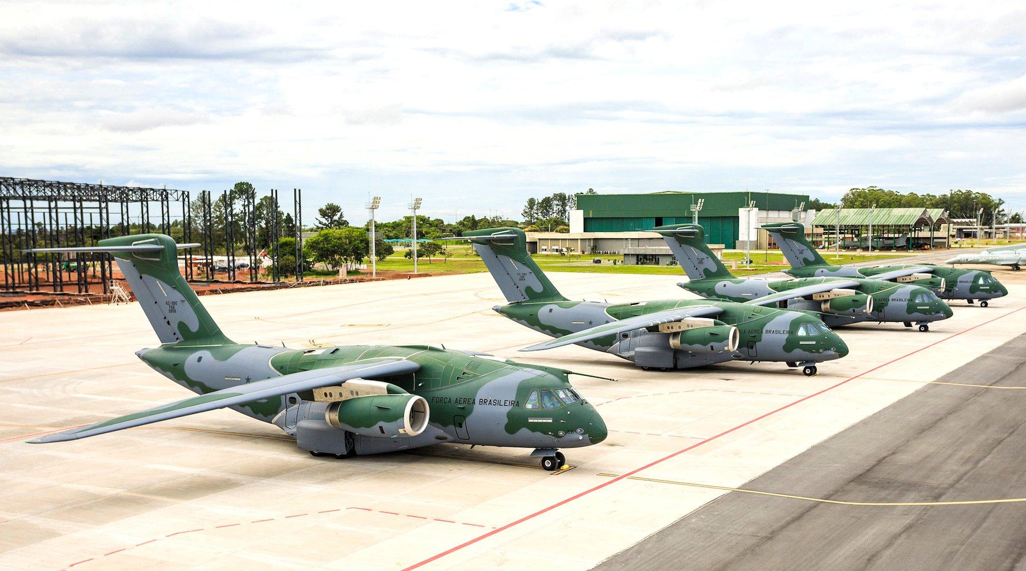 Brazilian KC-390s [Brazilian Air Force]