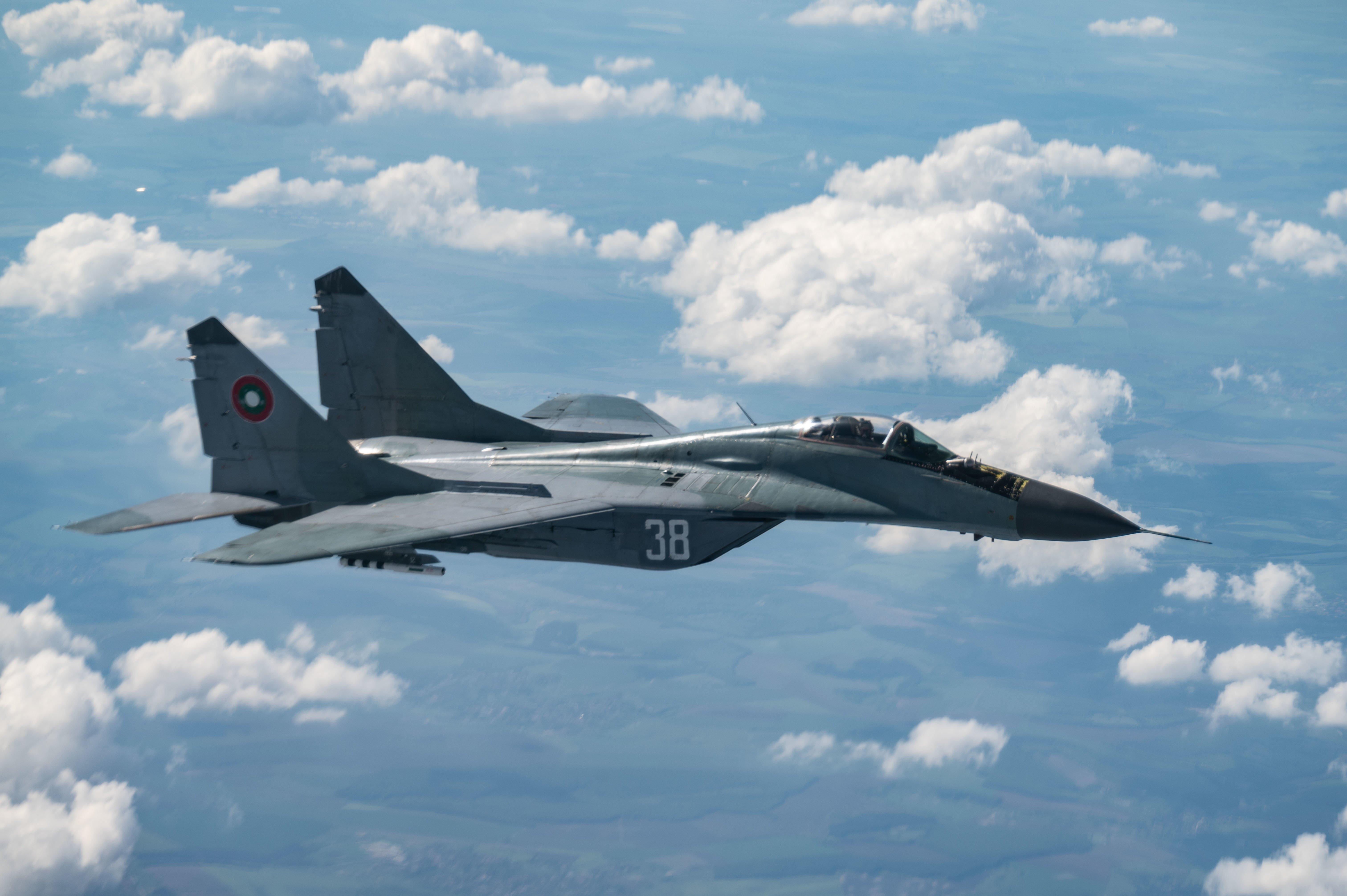 Bulgarian MiG-29 [USAF/Senior Airman Daniel Hernandez]