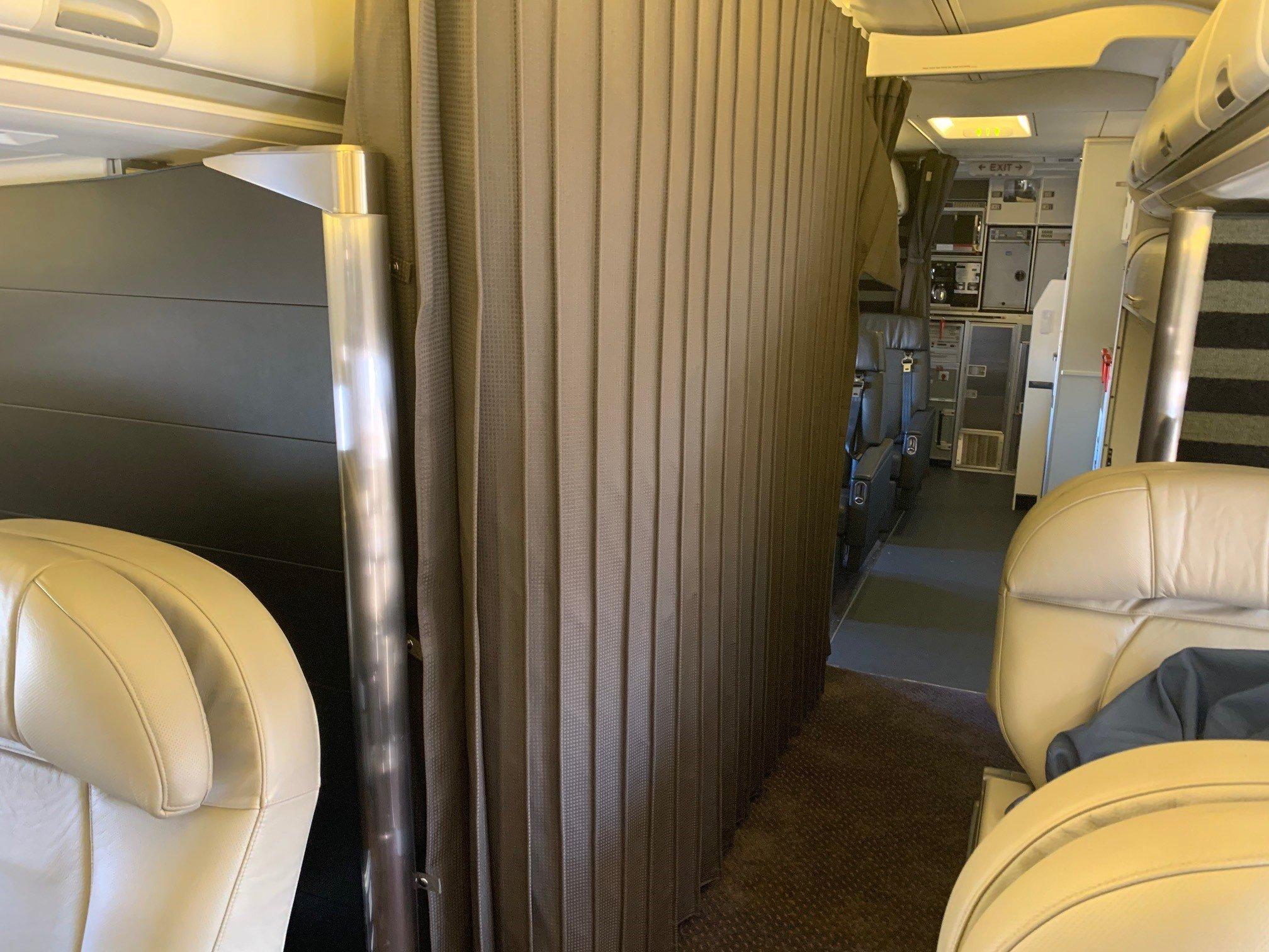 C-40 Clipper Sound Deadening Curtain [USAF]