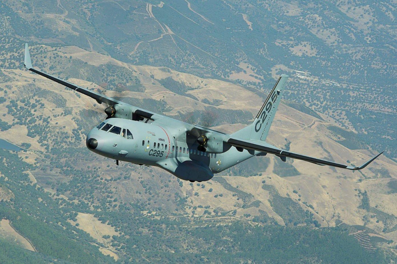 Airbus C295 in-flight [Airbus]