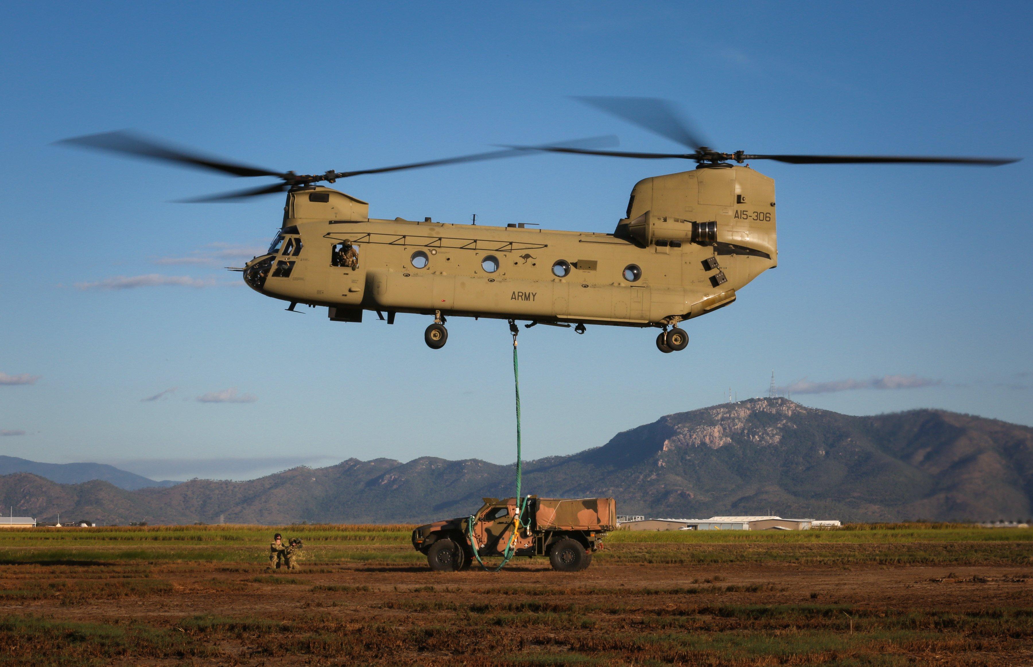 Australian CH-47F [Commonwealth of Australia - Department of Defence/Glen McCarthy]