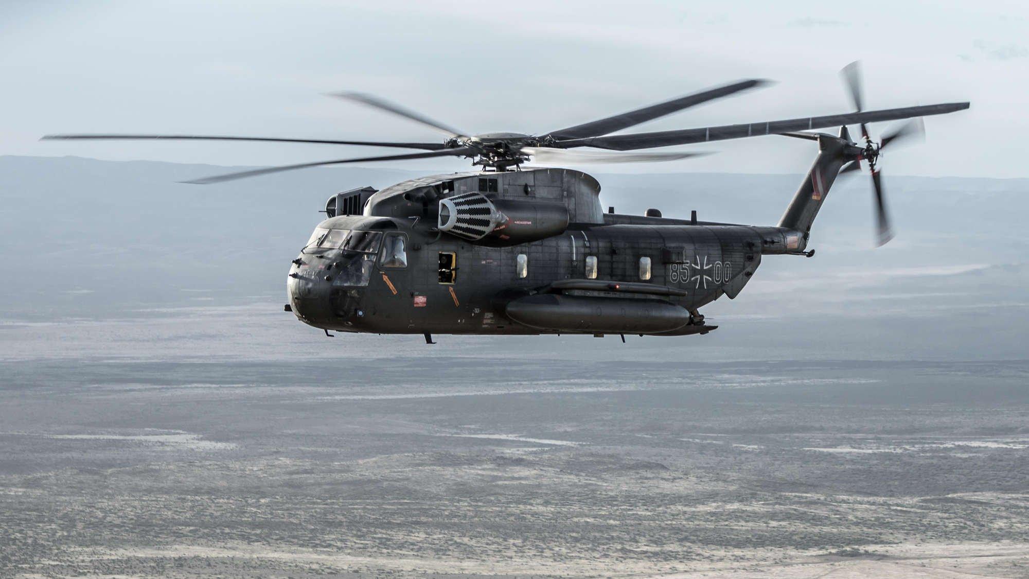 CH-53G [Bundeswehr/Astrid Burger-Weber]