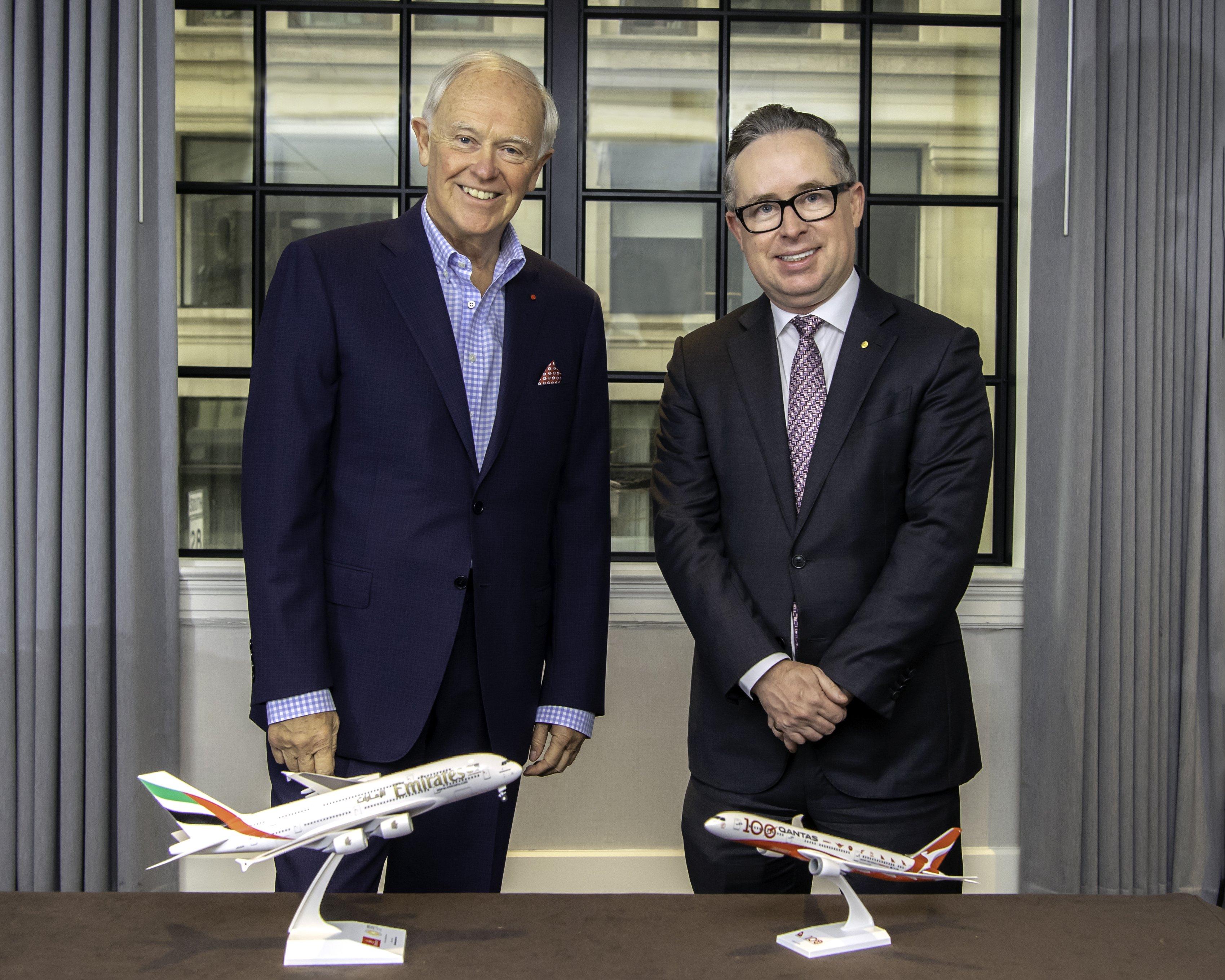 Emirates and Qantas partnership to continue