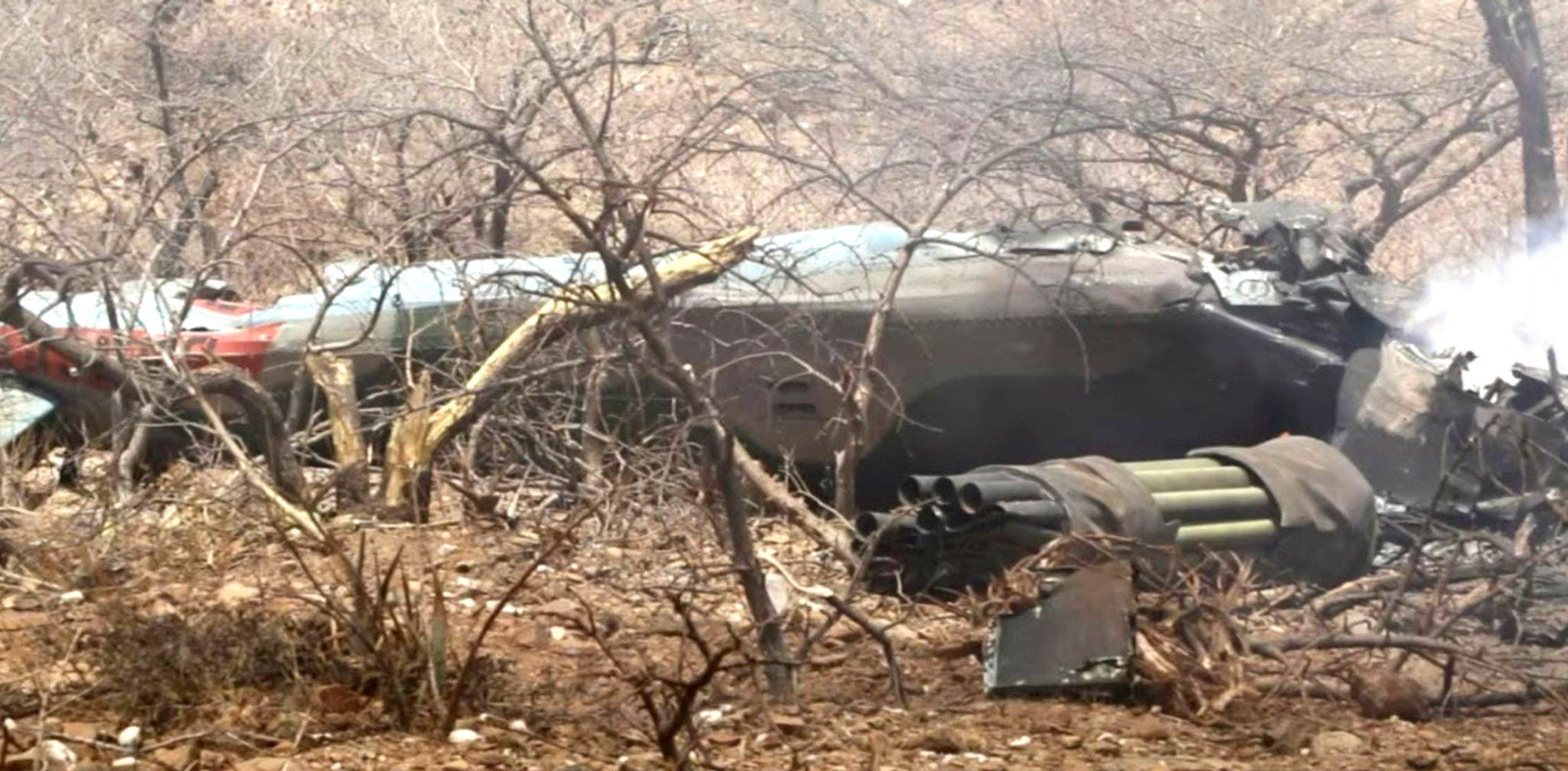 Ethiopian Mi-35 crash [TPLF]