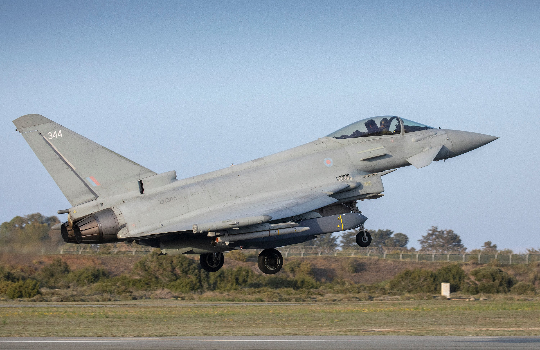 Typhoon FGR4 [MoD Crown Copyright/Cpl Steve Buckley]
