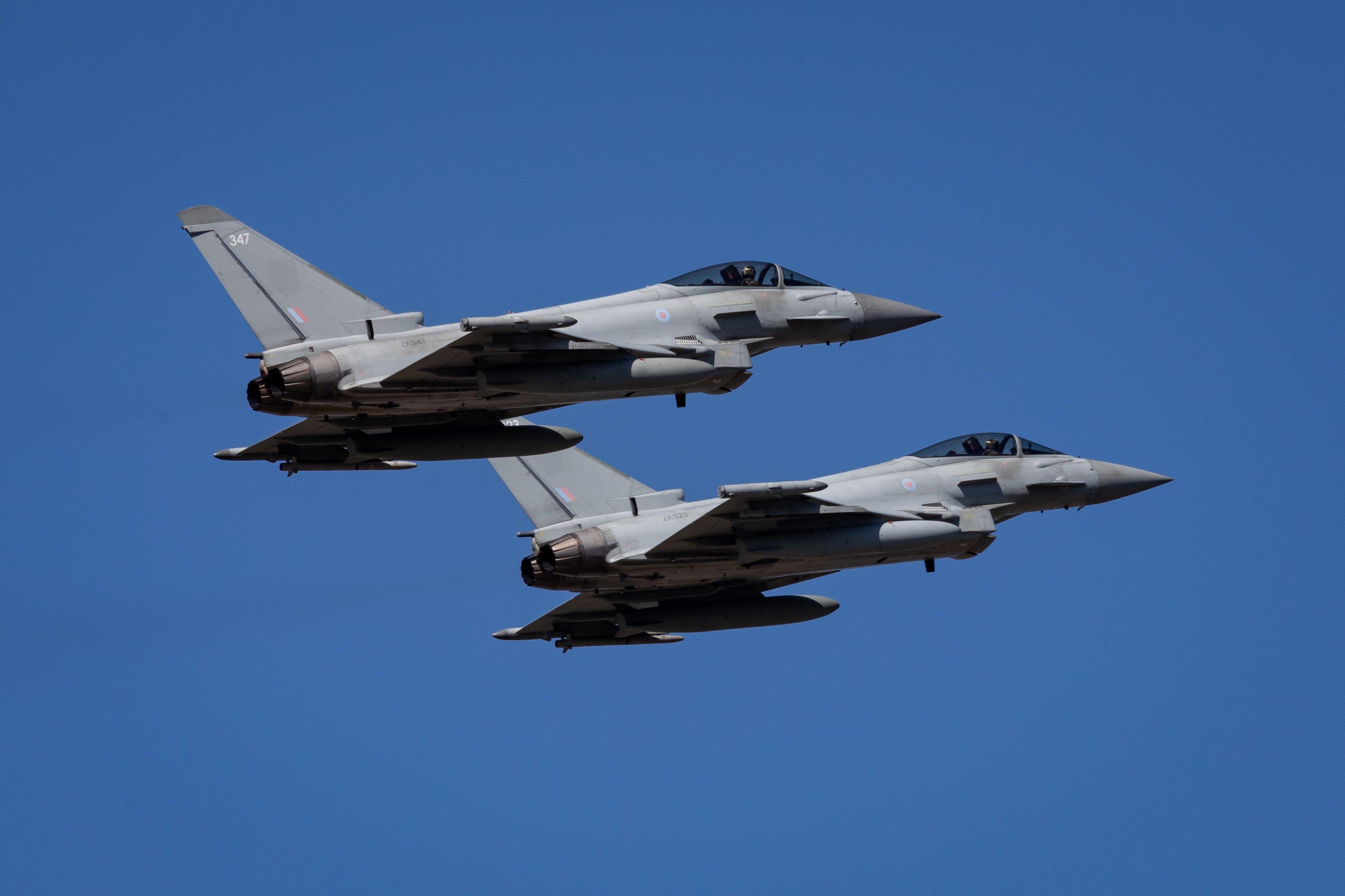 Typhoon FGR4s [MoD Crown Copyright/Sgt Ashley Keates]