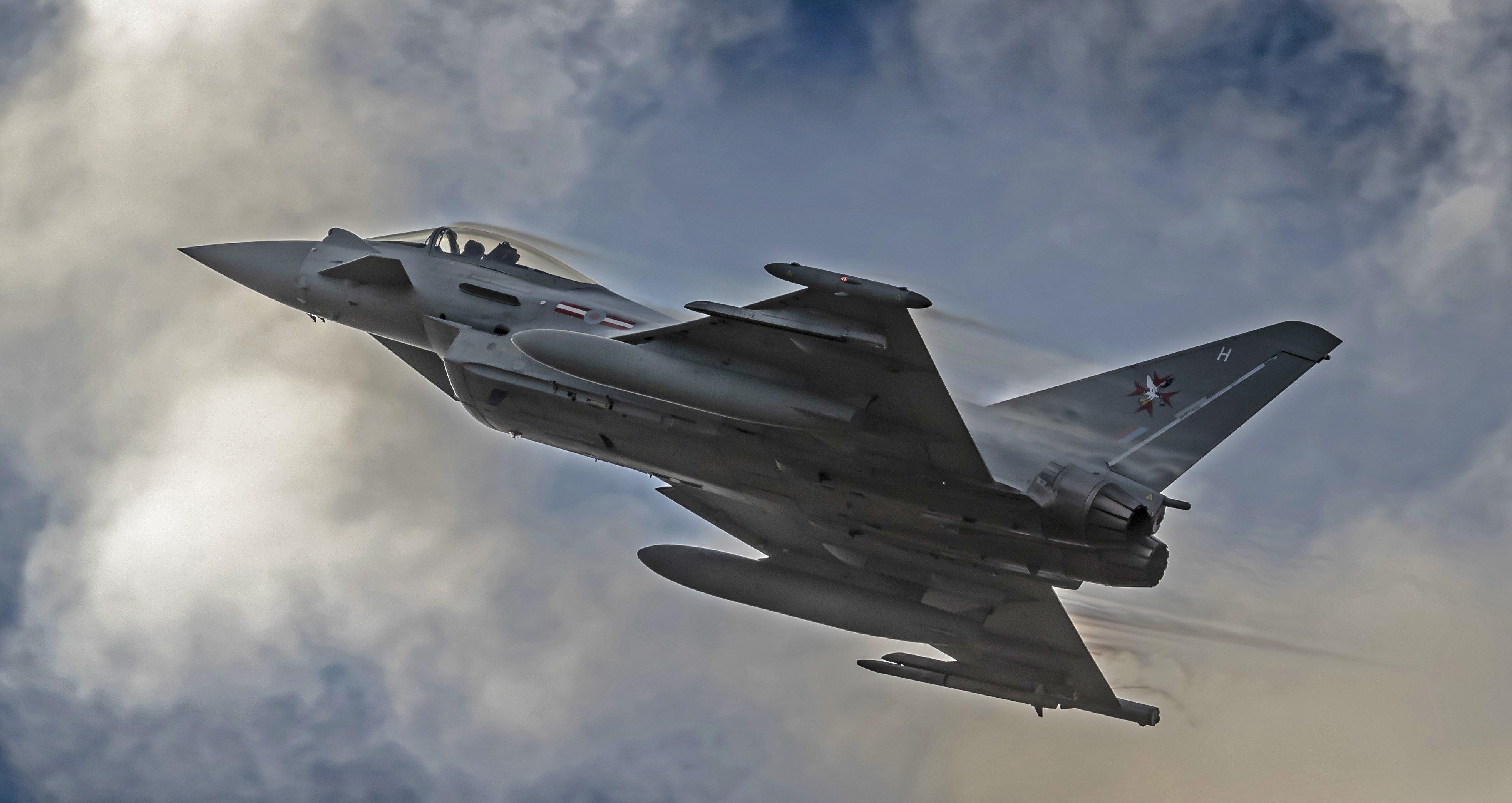Eurofighter Typhoon FGR4 [MoD Crown Copyright/Sgt Dave Rose]