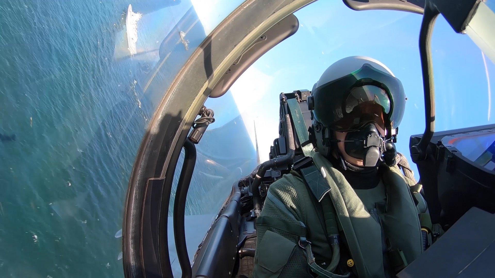 Eurofighter Typhoon pilot [MoD Crown Copyright/Royal Air Force]