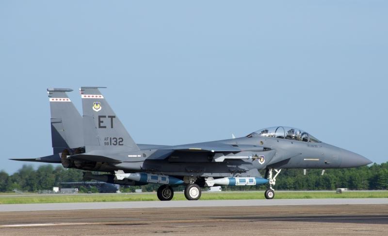 F-15E maritime JDAM test
