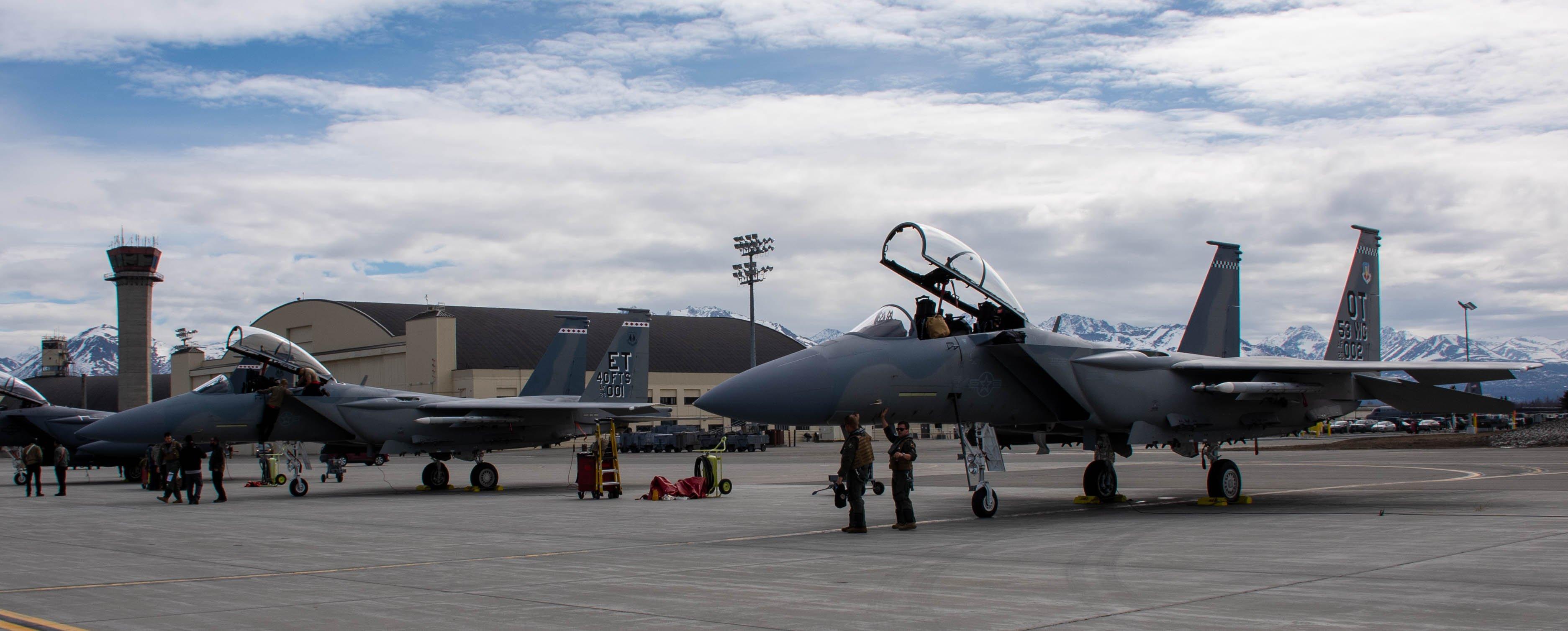F-15EX at Northern Edge 21 [USAF/1st Lt Savanah Bray]