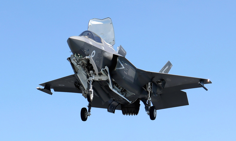 F-35B [MoD Crown Copyright/LPhot Unaisi Luke]