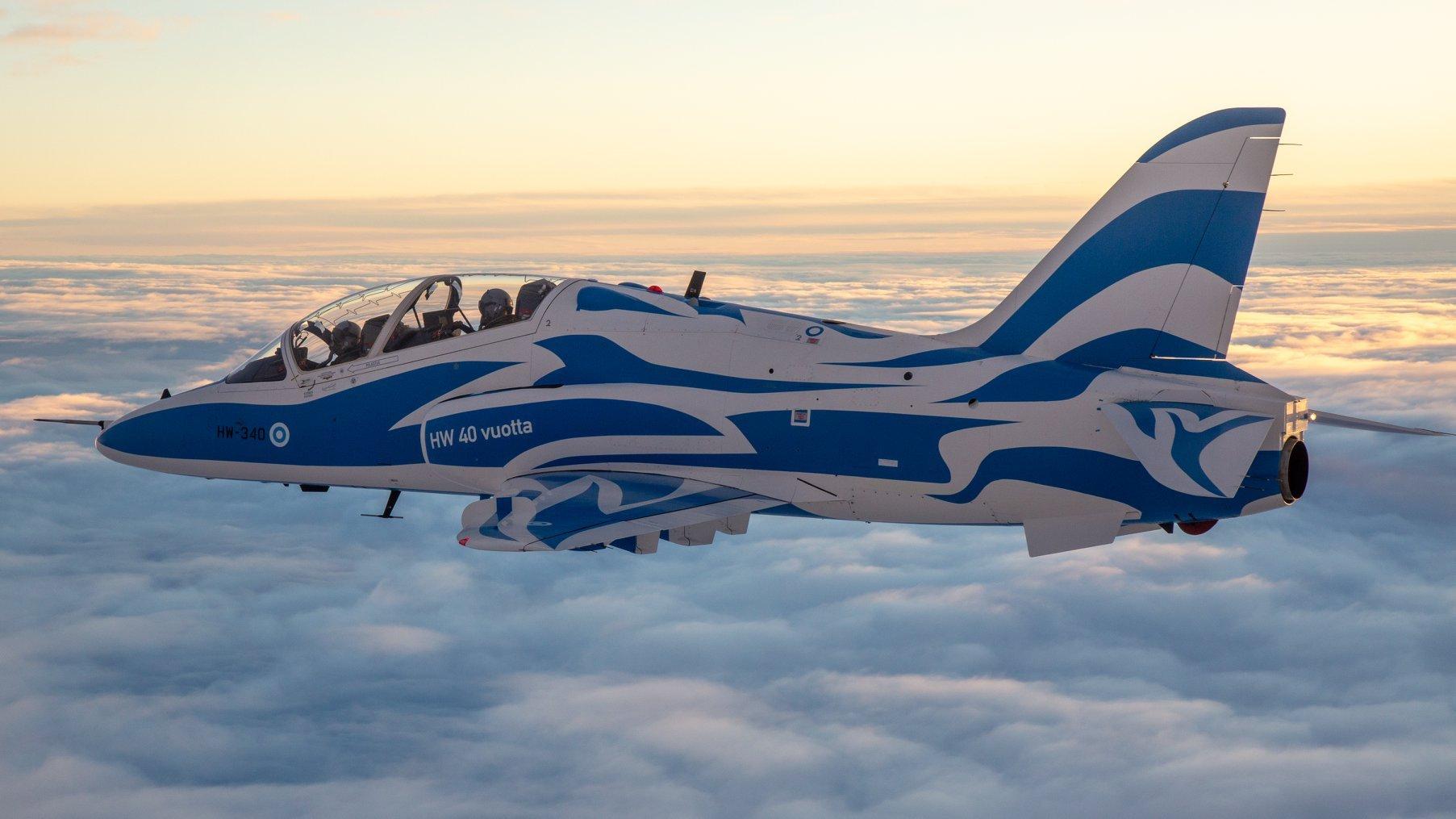 Finnish AF Hawk 40th Anniversary Scheme [Finnish Air Force]