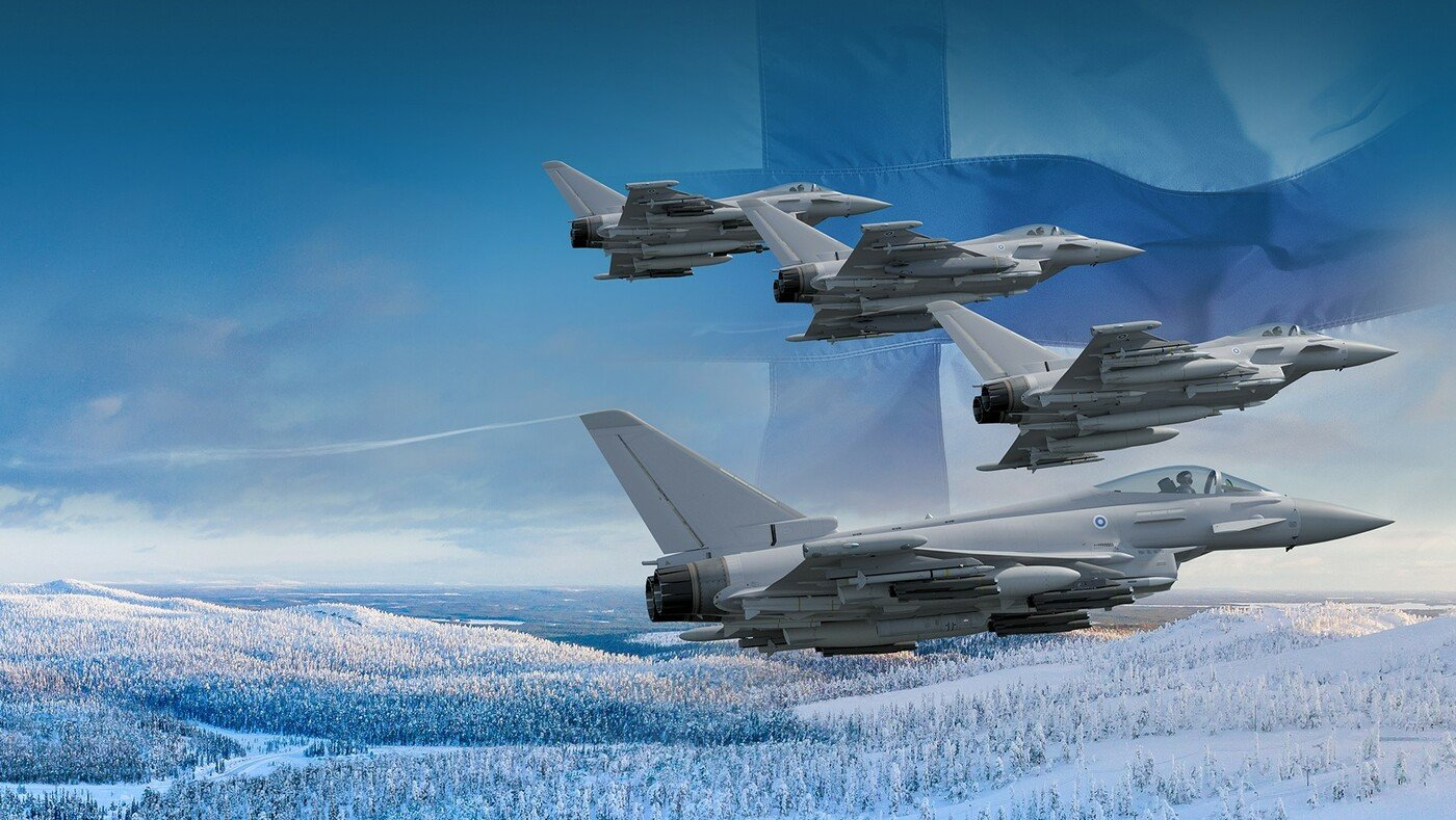 Finnish Air Force Typhoons [BAE Systems]