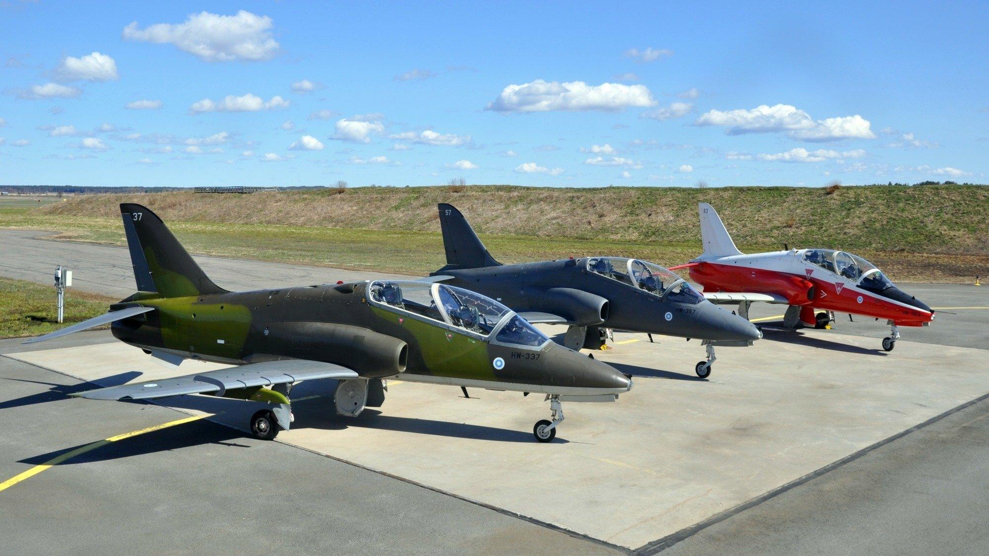 Finnish Hawks [Finnish Air Force/Ville Tuokko]