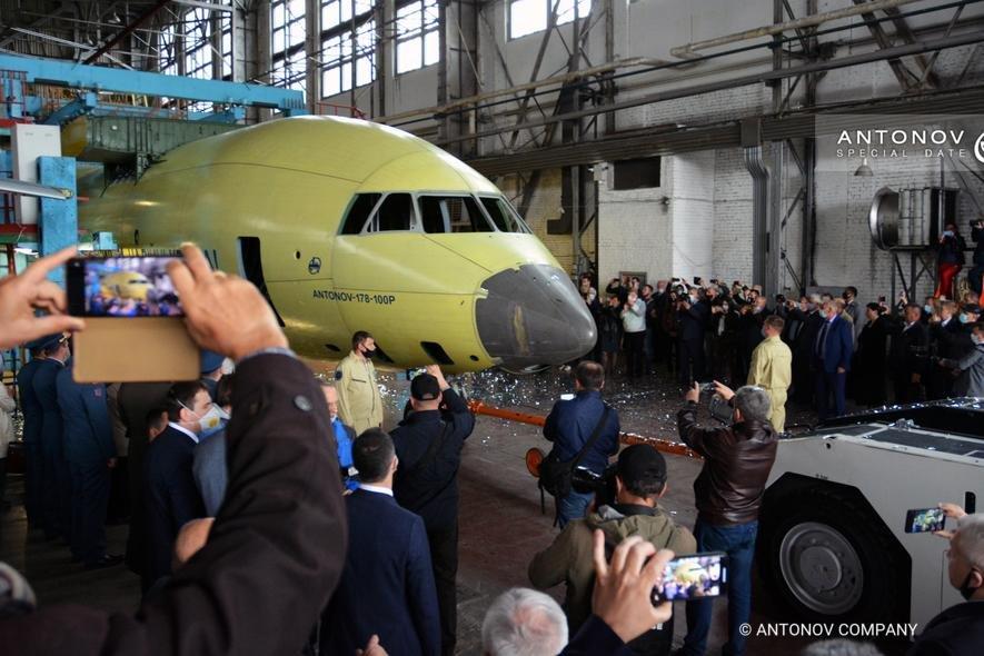 First Antonov An-178 fuselage for Ukraine [Antonov]