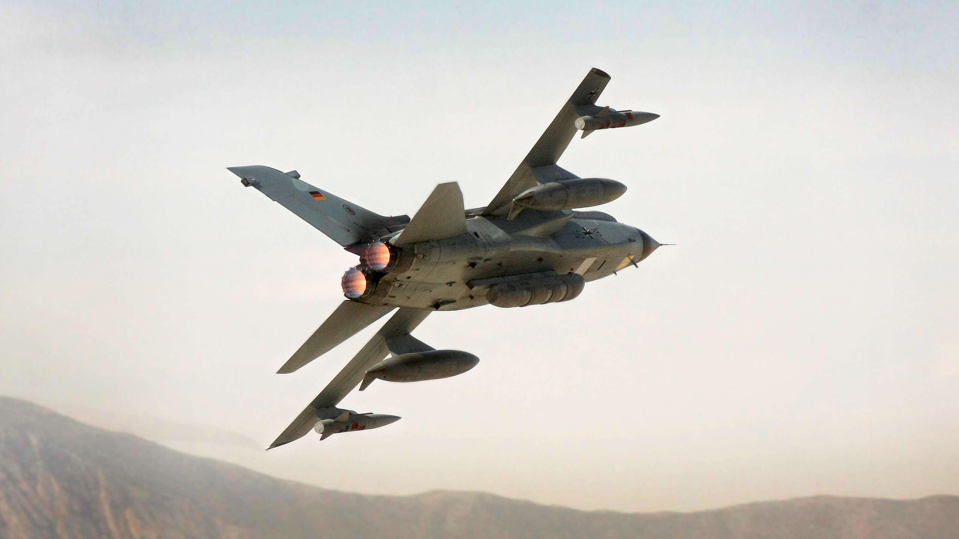 German AF TaktLwG51 Tornado ECR over Afghanistan [Bundeswehr/Falk Bärwald]