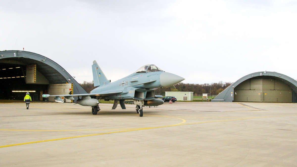 Luftwaffe EF-2000 PE2b upgrade [Bundeswehr/R Kostanjevec]