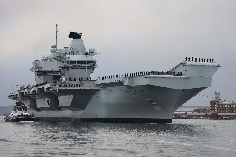 HMS Queen Elizabeth (R08) [MoD Crown Copyright/Petty Officer Dave Jenkins]