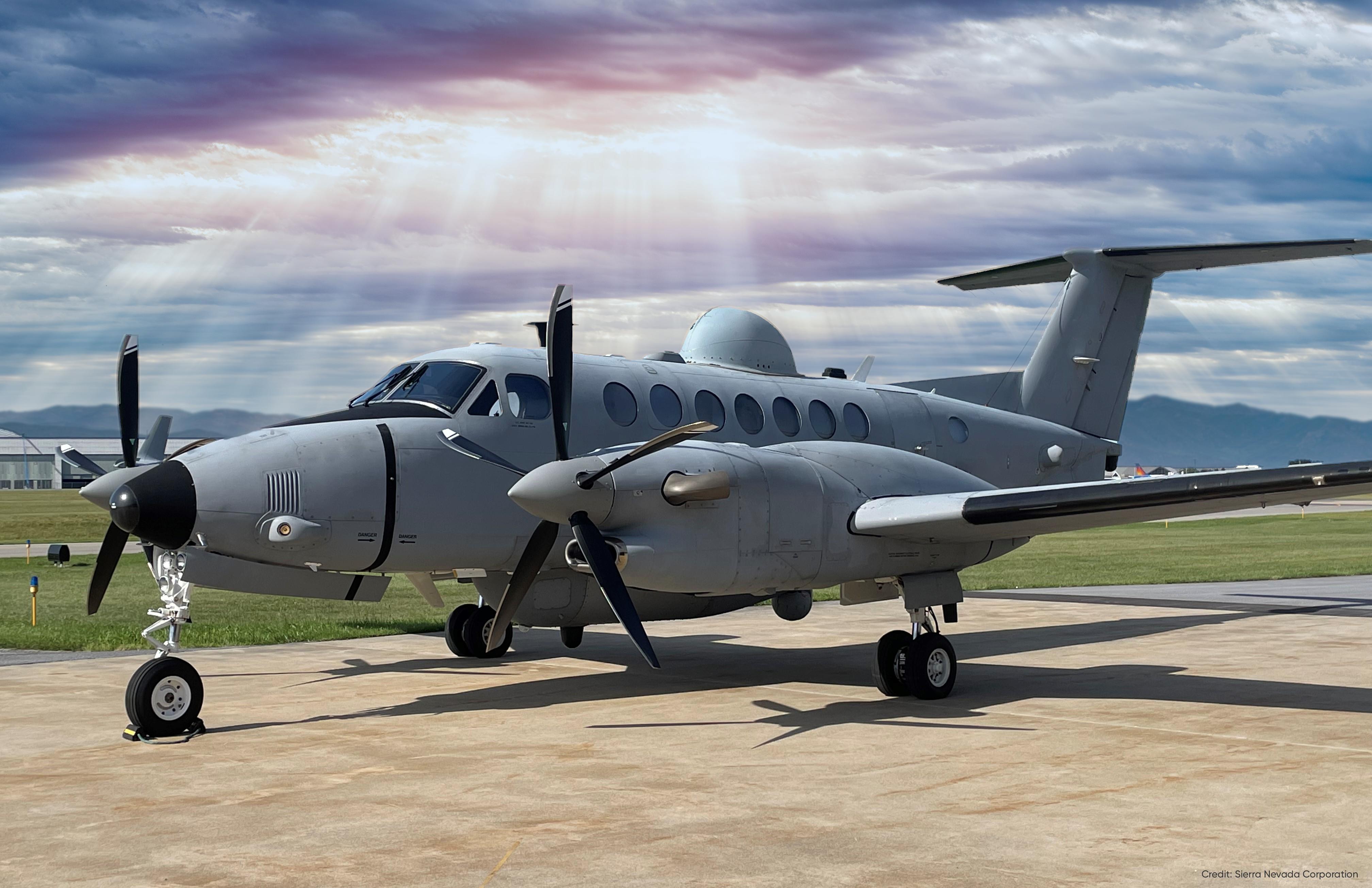 SNC King Air 350 MEK EMARSS US Army [SNC]