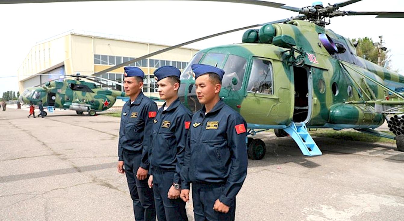 Kyrgyz AF Mi-8MT handover May 2019 [Russian MOD]