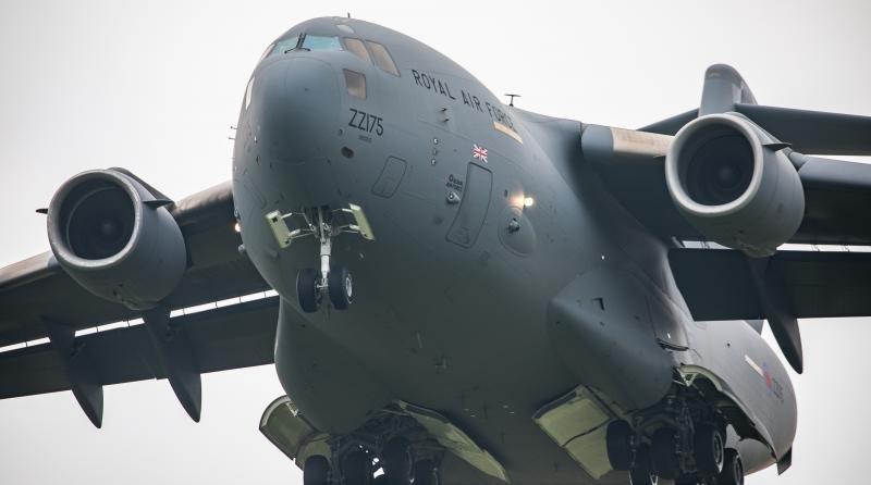 UK RAF C-17