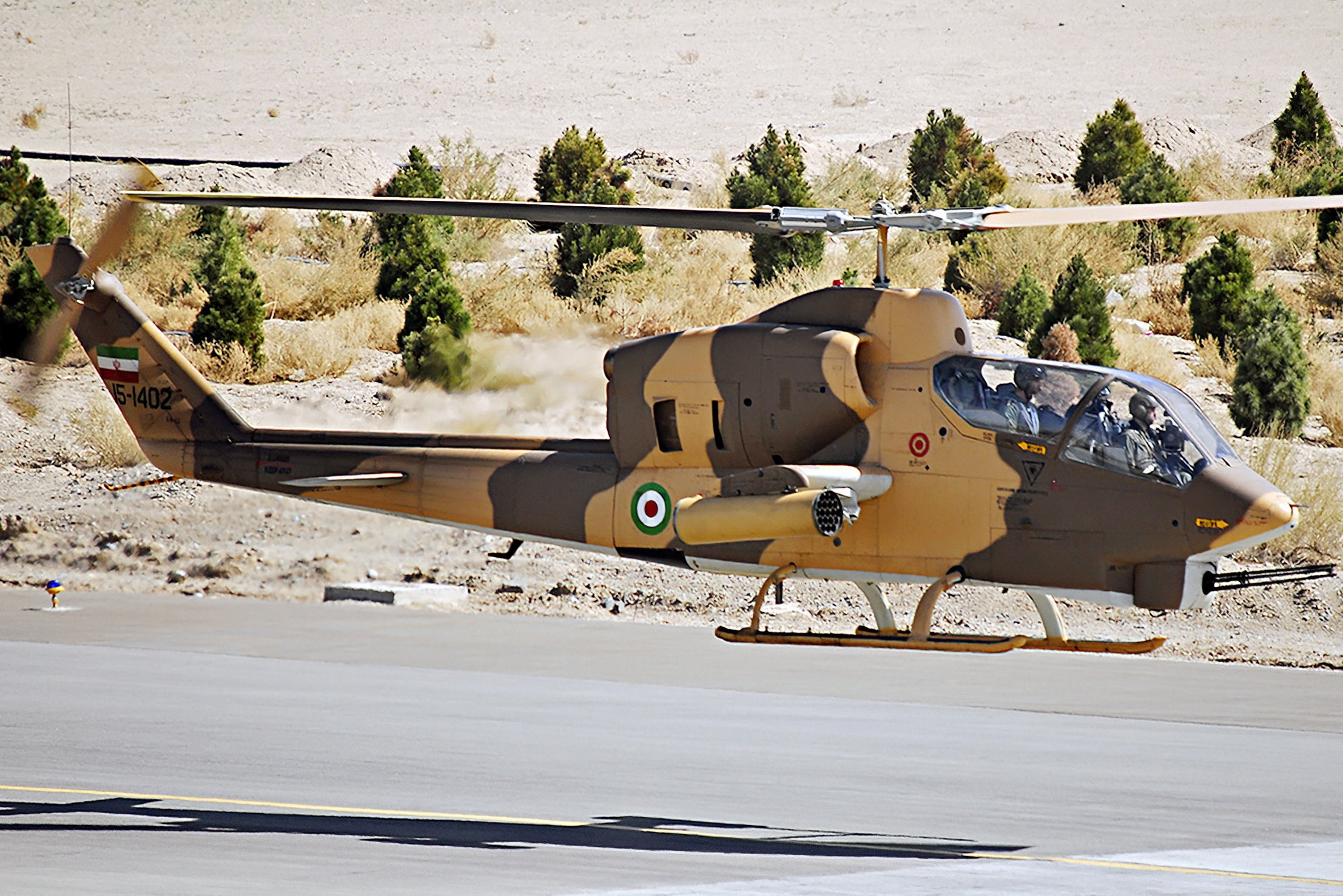 Iranian AH-1J Cobra [Ahmad Mahgoli]